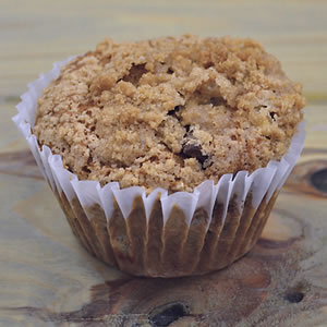 Banana Chocolate Chunk Muffin