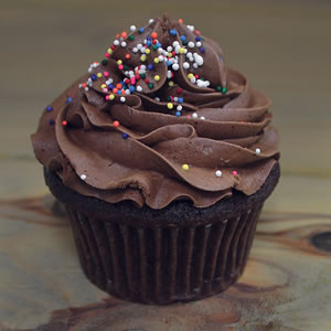 Chocolate with Buttercream Cupcake