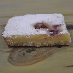 Lemon Raspberry Bar
